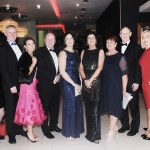 17/2/2018  Attending the Munster Heart Foundation Ball at the Strand Hotel were Jacinta Khan, Sean Coughlan, Ruth Vaughan, Dr. Pat Daly, Aine Coughlan, Mary Daly, Ann Murray, Conn Murray, Petrina and Eoghan Meskill.
