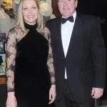17/2/2018  Attending the Munster Heart Foundation Ball at the Strand Hotel were Angela McKenna and Garrett Loftus, Menarini. Pic: Gareth Williams / Press 22