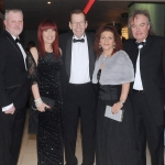 17/2/2018  Attending the Munster Heart Foundation Ball at the Strand Hotel were Martin and Amanda Cronin, Sixmilebridge, Liam Burke, Parteen, Michelle and Roger Bourke, Greencross, Grange.