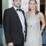 17/2/2018  Attending the Munster Heart Foundation Ball at the Strand Hotel were Jason Quinn and Saundra Flynn, Infusion Healthcare. Pic: Gareth Williams / Press 22