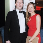 17/2/2018  Attending the Munster Heart Foundation Ball at the Strand Hotel were JJ Coughlan and Niamh Flannagan, Cardiology Department University Hospital Limerick. Pic: Gareth Williams / Press 22