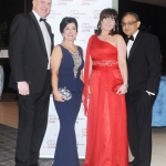 17/2/2018  Attending the Munster Heart Foundation Ball at the Strand Hotel were Ollie Mullooly, Lisa Tracey, Organiser, Munster Heart Foundation Ball, Edel Gupta and Prof. Rajnish Gupta, Cratloe.