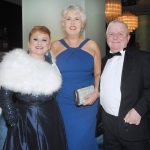 17/2/2018  Attending the Munster Heart Foundation Ball at the Strand Hotel were Lorraine O' Connell, Raheen, Cliona Fitzgerald, Glin and Stevie O' Donoghue, Dooradoyle. Pic: Gareth Williams / Press 22