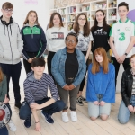 Pictured at the Narrative 4 Office on O'Connell Street for their weekly workshop are secondary students from across Limerick. Picture: Conor Owens/ilovelimerick.