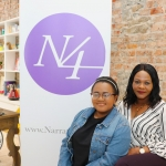 Pictured at the Narrative 4 Office on O'Connell Street for the Glucksman N4 2019 Scholarship is student Mercy Oyewo and her mother Jumoke Oyewo. Picture: Conor Owens/ilovelimerick.