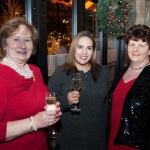 Pictured at the Network Ireland Limerick Christmas at House Limerick - Aileen O'Connor (ReflexOlogy Limerick), Cori Calvert (Glas Eireann Solutions) and Carmel Bracken (Designwise Automation). Picture: Álex Ricöller / ilovelimerick