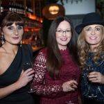 Pictured at the Network Ireland Limerick Christmas at House Limerick - Donna Kennedy (Lilac Rose Bridal) Louise Lawlor (Blink Design) and Gillian Horan (The Pudding). Picture: Álex Ricöller / ilovelimerick