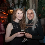 Pictured at the Network Ireland Limerick Christmas at House Limerick - Catriona O'Donoghe (Get Est/Escape Limerick) and Petrina Hayes (Savoy/George Hotel). Picture: Álex Ricöller / ilovelimerick