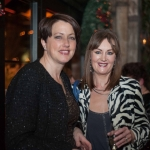 Pictured at the Network Ireland Limerick Christmas at House Limerick - Rachel O'Neill (Analog Devices) and Catherine Waters (complete Laser Care). Picture: Álex Ricöller / ilovelimerick