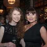 Pictured at the Network Ireland Limerick Christmas at House Limerick - Catriona O'Donoghe (Get Est/Escape Limerick) and Donna Kennedy (Lilac Rose Bridal). Picture: Álex Ricöller / ilovelimerick