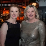 Pictured at the Network Ireland Limerick Christmas at House Limerick - Orla Káiser (Waterzone Limerick) and Michelle Daly. Picture: Álex Ricöller / ilovelimerick