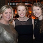 Pictured at the Network Ireland Limerick Christmas at House Limerick - Michelle Daly, Orla Káiser (Waterzone Limerick) and Catriona O'Donoghe (Get West/Escape Limerick). Picture: Álex Ricöller / ilovelimerick