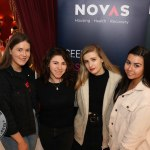 Pictured at the Novas International Women's Day Lunch at the Savoy Hotel are UL students Mary Ryan, Sophia DiBattista, Beth Pym and Orla McCarthy. Picture: Beth Pym/ilovelimerick