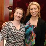 Pictured at the Novas International Women's Day Lunch at the Savoy Hotel are Fiona McGinty and Holly Cowman, Mary Immaculate College. Picture: Beth Pym/ilovelimerick