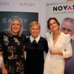 Pictured at the Novas International Women's Day Lunch at the Savoy Hotel are Catherine and Kathleen O'Connor, Corbally and Una Burns, Novas. Picture: Beth Pym/ilovelimerick