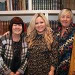Pictured at the Novas International Women's Day Lunch at the Savoy Hotel are Veronica and Stacey Markham, Clareview and Audrey Hurley, Greystones. Picture: Beth Pym/ilovelimerick