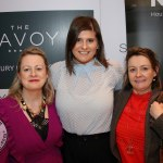 Pictured at the Novas International Women's Day Lunch at the Savoy Hotel are Anne Cronin, Alicja Feret and Kathyrn Dennehy, Novas. Picture: Beth Pym/ilovelimerick