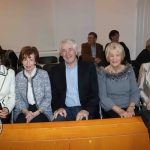 Bride Mitchell, Mary McDonald, Joe and Laura Burren and Patsy Realy at the Mayoral Reception for Paddy Brennan's new book 'The History of Limerick Music from 1800 - 2018' in the Council Chambers. Picture: Conor Owens/ilovelimerick.