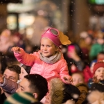 19/11/17 REPRO FREE Anna Setkowicz at the annual turning of the Christmas Lights in Limerick City. A crowd of 15,000 turned out in Limerick for the switching on of the Christmas lights and the start of Limerick's festive celebrations. Mayor of Limerick Cllr Stephen Keary was joined by the stars of PAW Patrol and Limerick Rose Kayleigh Maher for the annual switching on ceremony. Picture Sean Curtin True Media.