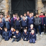 Students from Caherdavin Boys School at the Pay It Forward Kindness Flags Awards at King Johns Castle. Tuesday, May 15, 2018. Picture: Sophie Goodwin/ilovelimerick.