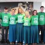 Students from Castletroy College pictured at Pay It Forward Limerick event at King Johns Castle on May 15 2018. Picture: Zoe Conway/ ilovelimerick.com.