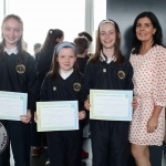 Crecora National School students with class teacher Nicola Gill at the Pay It Forward Limerick event at King Johns Castle on May 15 2018. Picture: Zoe Conway/ilovelimerick.