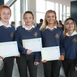 Scoil na Trionoide Naofa students at the Pay It Forward Limerick event at King Johns Castle on May 15 2018. Picture: Zoe Conway/ilovelimerick.