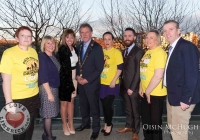 24/03/2015    Mayor Michael Sheehan (center) pictured with Joan Freeman(Pieta House Founder, to his right), and Pieta House representatives.  Picture: Oisin McHugh      www.oisinmchughphoto.com
