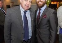 24/03/2015    Fergal Deegan (Live 95fm) with Tony Sheridan (Chairperson DIL Limerick City). Picture: Oisin McHugh      www.oisinmchughphoto.com