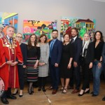 The launch of the Polish Arts Festival took place in the Hunt Museum on Thursday, September 19. Picture: Kate Devaney/ilovelimerick.