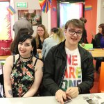 Pictured at the Limerick Pride Youth Party at Lava Java's Cafe. Picture: Orla McLaughlin/ilovelimerick.