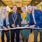 Leanne Moore, Cllr James Collins, Mayor of Limerick City and County, Bev Missing, Rain Africa, and Patrick McLoughney. Pic: Cian Reinhardt/ilovelimerick