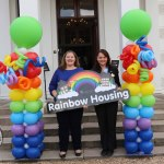 Pictured at the launch of the Rainbow Housing Initiative at Plassey house, UL are Ellen Fitzmaurice, student residences general manager and Carol-Jane Shanley, Cappavilla Village Manager. Picture: Orla McLaughlin/ilovelimerick.