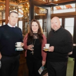 Pictured in House Limerick for the launch of Riverfest Limerick 2019 areRay Collins, Tracey O'Donovan and Jerry Battles from Arthur's Quay shopping centre . Picture: Conor Owens/ilovelimerick.