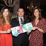 Pictured in House Limerick for the launch of Riverfest Limerick 2019 are Meghann Scully, Cllr James Collins, Mayor of Limerick City and Council, and Laura Ryan, Limerick City and County Council. Picture: Conor Owens/ilovelimerick.