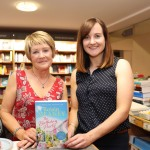 Pictured at the launch of her 16th book 'The Birthday Party' at O'Mahoney's Book Shop is author Roisin Meaney and Elaine Egan, Publicity Director at Hachette Ireland. Picture: orla mcLaughlin/ilovelimerick.