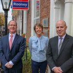 Gordon, Lisa and Peter Kearney celebrating 50 years of their family's business Rooney Auctioneers. Picture: Richard Lynch/ilovelimerick.