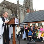 Pictured at the official opening of the new school extension and associated works of Saint Michaels National School located in Limerick City on Friday, October 11, 2019. Anthony Sheehan/ilovelimerick