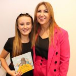 Pictured at the launch of Sarah Corbett Lynch's book 'Noodle Loses Dad' is Sarah Corbett Lynch with her mum Tracey Corbett Lynch on Monday, December 2. Picture: Kate Devaney/ilovelimerick.