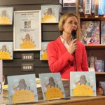 Pictured at the launch of Sarah Corbett Lynch's book 'Noodle Loses Dad' at O'Mahony's Booksellers on Monday, December 2. Picture: Kate Devaney/ilovelimerick.