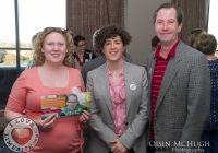 07/04/2015    Karen ODonnell OConnor, Dominiqu Bouchard and Myles Breen at the Yes Equality Limerick launch at the Limerick Strand Hotel.  Picture: Oisin McHugh      www.oisinmchughphoto.com