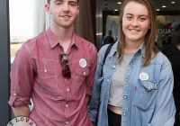 07/04/2015    Lorcan ODonnell and Maeve McLoughlin at the Yes Equality Limerick launch at the Limerick Strand Hotel.  Picture: Oisin McHugh      www.oisinmchughphoto.com