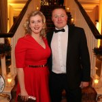 Pictured at the Shannon Region Ambassador Awards 2019 in Dromoland Castle are Noreen and Noel O'Malley. Picture: Kate Devaney/ilovelimerick.