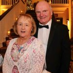 Pictured at the Shannon Region Ambassador Awards 2019 in Dromoland Castle are Anne Lewis and Professor Elfed Lewis. Picture: Kate Devaney/ilovelimerick.