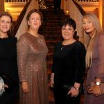 Pictured at the Shannon Region Ambassador Awards 2019 in Dromoland Castle are Gillian Griffin, The Adare Manor, Maria O'Gorman Skelley, The Strand Hotel and Anita Higgins and Michelle O'Brien from Adare Manor. Picture: Kate Devaney/ilovelimerick.