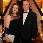 Pictured at the Shannon Region Ambassador Awards 2019 in Dromoland Castle are Dr. Anca Minescu and Seamus Walsh . Picture: Kate Devaney/ilovelimerick.