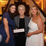 Pictured at the Shannon Region Ambassador Awards 2019 in Dromoland Castle are Holly English, Shannon Region Conference and Sports Bureau, Sister Helen, the Children's Grief Center and Karen Brosnahan, Manager of Shannon Region Conference and Sports Bureau. Picture: Kate Devaney/ilovelimerick.