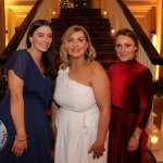 Pictured at the Shannon Region Ambassador Awards 2019 in Dromoland Castle are Holly English, Karen Brosnahan and Danielle Devaney from the Shannon Region Conference and Sports Bureau. Picture: Kate Devaney/ilovelimerick.