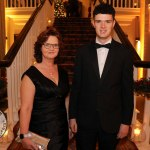 Pictured at the Shannon Region Ambassador Awards 2019 in Dromoland Castle are Dr. Catherine Naughton and Brian Naughton. Picture: Kate Devaney/ilovelimerick.