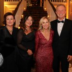 Pictured at the Shannon Region Ambassador Awards 2019 in Dromoland Castle are Deirdre Ryan, Gwen Moore and Dr. Anne O'Keefe from Mary Immaculate College and Dr. Gerard Downes, University of Limerick. Picture: Kate Devaney/ilovelimerick.